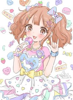 Kawaii picture by Manamoko. #manamoko #kawaii #anime