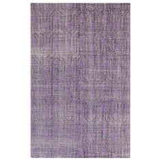 Surya Zahra Chloe Purple Hand Knotted Wool Rug. #laylagrayce #surya