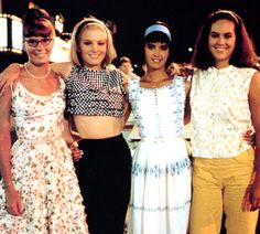 http://media.vogue.com/files/Few things say summer like Shag: the Movie (1989). The movie's the perfect cocktail of high jinks, young love, sixties fashion, and, um, cocktails, so in the spirit of the season, we're offering updated looks inspired by the best summer cult classic o