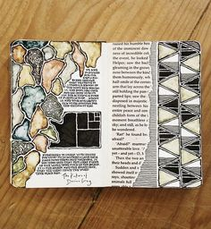 "scenesfromsuburbia: ""Rebecca Blair produces the most stunning moleskine pages. """