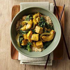 Plan de comidas de 7 días para perder peso – Adelgazar en casa Curry Recipes, Diet Recipes, Vegetarian Recipes, Cooking Recipes, Healthy Recipes, Diet Meals, Delicious Recipes, Tofu Curry, Quinoa Curry