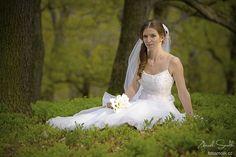 nevěsta v přírodě , bride in nature