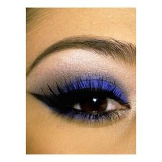 Make up blu per occhi castano scuro ❤ liked on Polyvore featuring beauty products, makeup, eye makeup, eyes and beauty