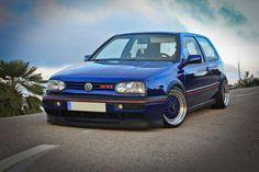 Nice blue GTI mk3
