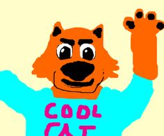 Cool Cat Saves The Kids (Google it)