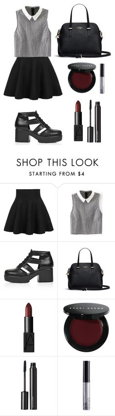 """Zoe Benson is amazing so is this outfit"" by grunche ❤ liked on Polyvore featuring Topshop, NARS Cosmetics, Bobbi Brown Cosmetics, Witchery and NYX"
