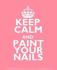 :) lol ive painted my nails at least once every two days for the past two weeks.