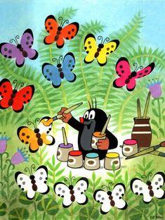 Krteček La Petite Taupe, Paisley Art, Art Classroom, Mole, Cute Cartoon, Kids And Parenting, My Childhood, Childrens Books, Illustrators