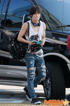 Airport fashion #Taemin #SHINee's Maknae #LeeTaemin