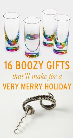 Boozy gift ideas to help you (and everyone on your list) get through the holidays