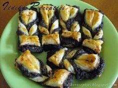 Ildikó receptjei: Mákos leveles-vajas szépségek Sushi, Mango, Food And Drink, Poppy, Ethnic Recipes, Manga, Poppies, Sushi Rolls