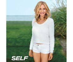 Cameron Diaz's Stay-Healthy Tips: Healthy Stars: Self.com : Ok, so she was born with that body. But Cameron Diaz still had to learn to treat it right. Now she is sharing her health and coolness secrets. #SELFmagazine