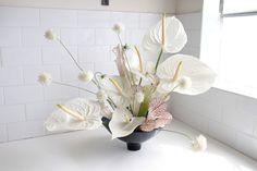 Image result for large anthurium leaf in vase