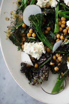 kale broccolini sala