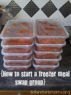 How to organize a Freezer Meal Swap.  This sounds like a good idea. This website has all the info on how to start one plus some websites to go to for freezer friendly, diet friendly meals and more.