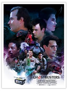 Ghostbusters by Illustrator Vlad Rodriguez