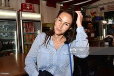 Photo d'actualité : Vanessa Demouy attend La Fete des Tuileries on...