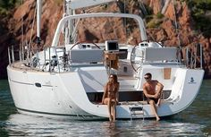 Chartering a boat, sailing. This might be a bit more realistic than living on the boat. Cruise Italy, Sailboat Living, Sailing Holidays, Yacht Interior, Boat Painting, Holiday Places, Yacht For Sale, Wakeboarding, Boat Building