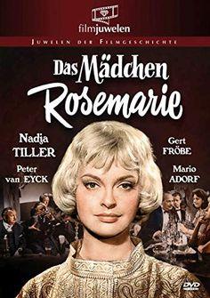 Das Mädchen Rosemarie poster, t-shirt, mouse pad Das Mädchen Rosemarie, Nina Hoss, Peter Van Eyck, Nadja, Mario, Drama, Frankfurt, Movie Posters, 22 Juni