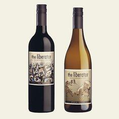 New for the @the_liberator_wine  #labeldesign #oddbins #dreyfusashbyuk #haumannsmal #liberatorwine #southafrica #stellenbosch