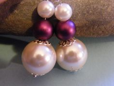 Earrings chunky beads  £3.10