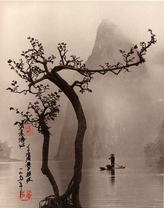 These images may appear to be traditional Chinese prints, including the beautifu. Chinese Prints, Japanese Prints, Chinese Art, Art Chinois, Chinese Landscape, Zen Art, China Painting, Japanese Painting, Art Graphique