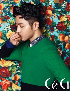 Verbal Jint - Ceci Magazine May Issue 13 (Korean rapper and lyricist that debuted in 2001 under Brand New Music with the mini album Modern Rhymes EP.)