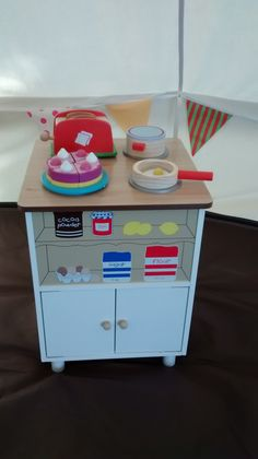 Play Kitchen in Adventure Play Tent
