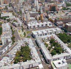 Vista aerea de El Silencio - Caracas