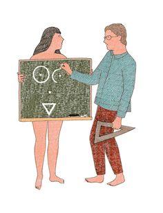 Education sexuelle (dessin fait pour le nytimes mais refusé)