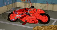 Akira is one of the greatest anime films ever made, so when Warner Bros. announced that a live-action film was being made fans were up in arms. Though Anime & Manga Manga Akira, Funny Adventure Quotes, Live Action, Action Film, Kaneda Bike, Akira Kaneda, Katsuhiro Otomo, Colani, Character Illustration