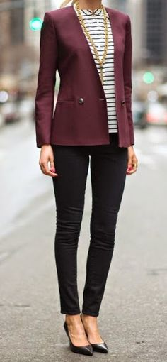 Just a pretty style   Latest fashion trends: Street style   Work outfit