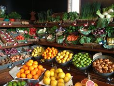 Fruit & Veg Display