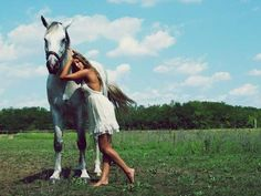 'One Day' features Beauty of Different Species #Horse #Fashion