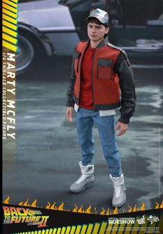 Back to the Future II - Marty McFly Movie Masterpiece 28 cm | Figures.cz
