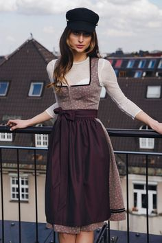 Midi Dirndl with lovely ornaments Ludwig & Therese from at Ludwig & Therese shop now ♥ fast shipping ♥ large selection ♥ great brands Camilla, Carrie, Julia Trentini, Ludwig Therese, Shop Now, The Selection, Grey, Victoria Plum, Clothes