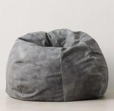 Oversized Leather Bean Bag