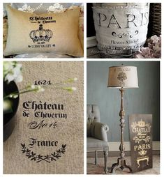 Vintage French Stencils | Vintage and French Style Stencils | Buffalo Vintage Homewares