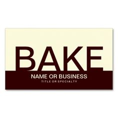 ==> reviews          	bold BAKE (color customizable) Business Card Template           	bold BAKE (color customizable) Business Card Template you will get best price offer lowest prices or diccount couponeHow to          	bold BAKE (color customizable) Business Card Template Review from Associa...Cleck Hot Deals >>> http://www.zazzle.com/bold_bake_color_customizable_business_card-240328819877546935?rf=238627982471231924&zbar=1&tc=terrest