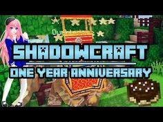 One Year of Shadowcraft | Anniversary Episode - YouTube Minecraft Single Player, Ldshadowlady Fan Art, Cat Crying, Minecraft Mods, First Year, Youtubers, Anniversary, Candy, Shit Happens