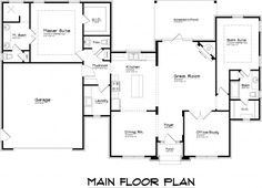 Main Floor Plan Design Applied In Master Suite Floor Plans Equipped With Detail View In Simple Idea Of Architecture