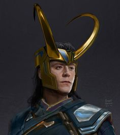 """Various character designs, costume designs, concept art I did for the film. Particularly my design for Loki's costume and helmet which was used as a base for the final design you see on the big screen! I am very happy on how it turned out"" (https://www.facebook.com/pg/AnthonyFranciscoArt/photos/?tab=album&album_id=1366834080111593 )"