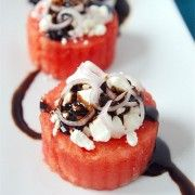 Mini Watermelon Feta Salads