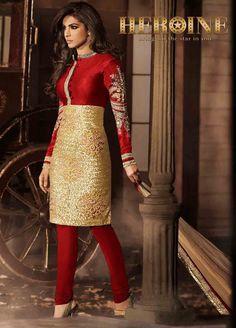 Brand Heroine Priyanka Chopra in Designer Bhagalpuri and Net Suit with Chiffon Dupatta Limelight Collection 5033B