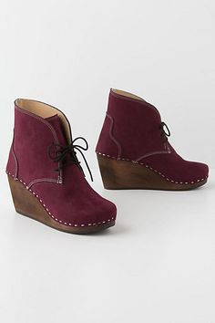 I really like these ...Medjool Laced Booties #anthropologie