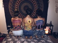 Back paint // body art