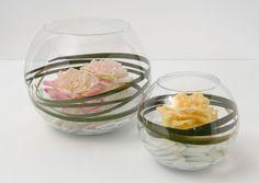 Rose flottante artificielle (lot de 3). Fleur artificielle mariage déco à découvrir sur Jardindeco.com.