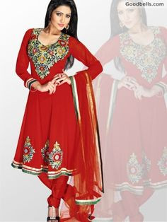 Buy Red Shade Bridal Anarkali Shalwar Kameez in just $115.00 at: http://goodbells.com/salwar-suits/red-shade-bridal-anarkali-shalwar-kameez.html?utm_source=pinterest_medium=link_campaign=pin21mayRedShadeShalwarKameez