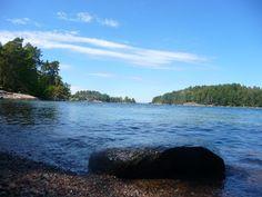 Grinda Island, Sweden. We camped here.