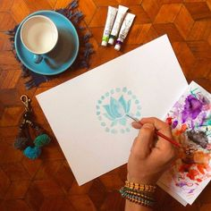 Fair trade goodies and mindful art session